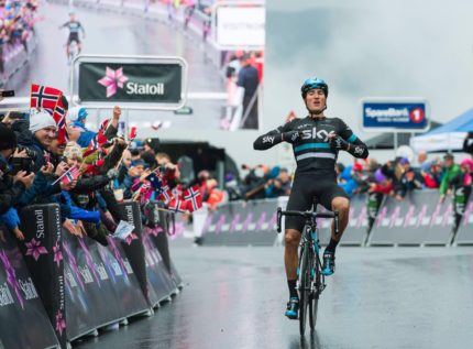 Gianni Moscon vincitore della Artic Race of Norway 2016