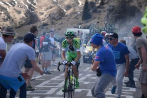 Giulio allo Swatt Corner sul Passo Giau