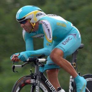 Eddy Mazzoleni al giro 2007. A cronometro diede vere legnate a tutti quanti