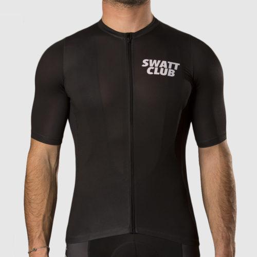jersey front blackjobs swatt club solowattaggio maglia ciclismo