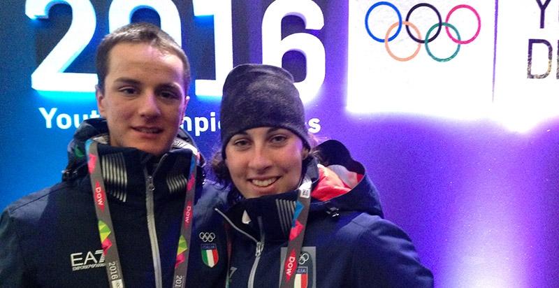 Chiara De Zolt e Luca Del Fabbro