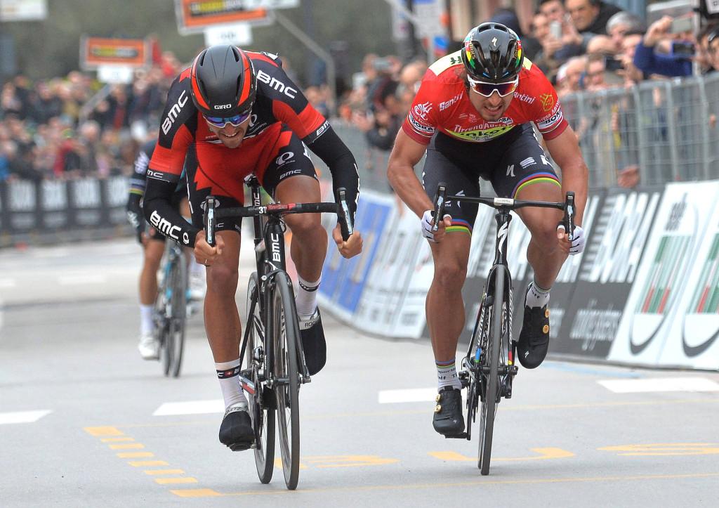 Peter Sagan Van Avermaet Milano Sanremo