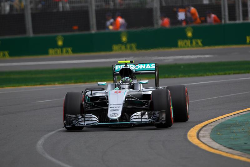 Nico Rosberg Australia