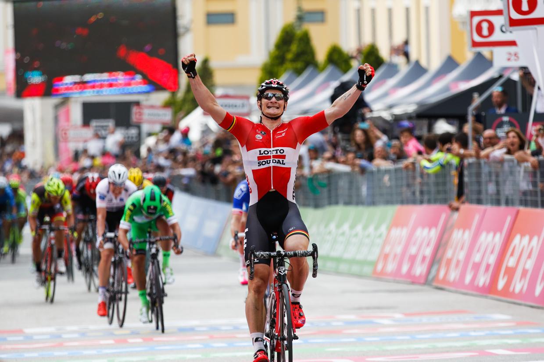Andre Greipel vince la dodicesima tappa del Giro D'Italia a Bibione