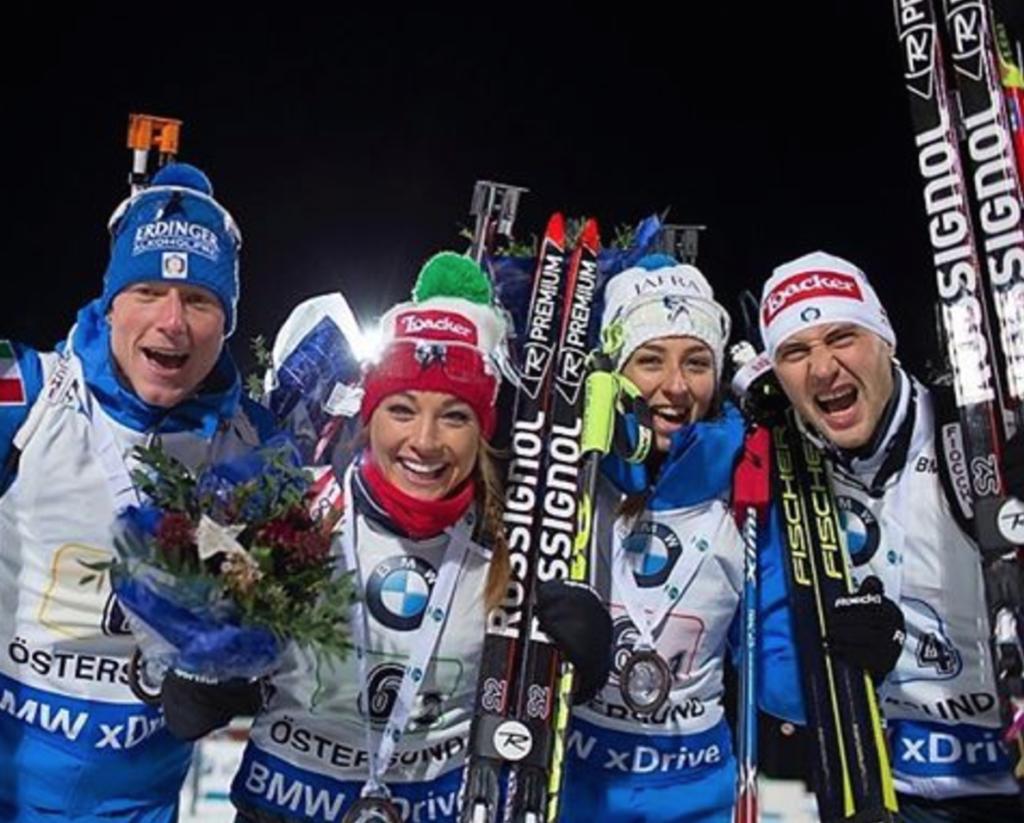 biathlon staffetta