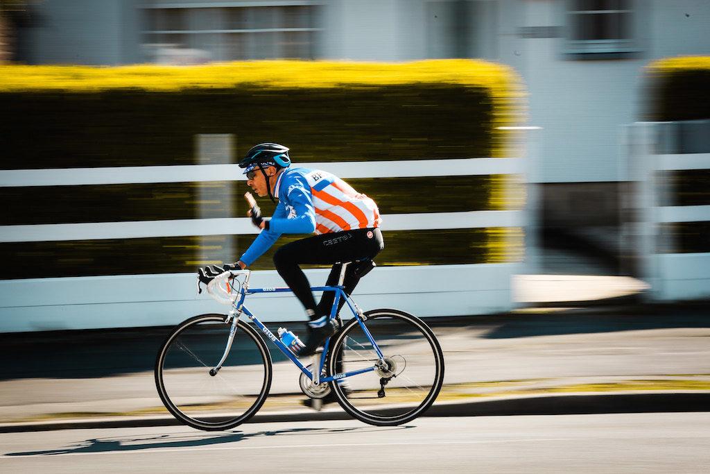 Ci sono molti amatori. Anche reincarnazioni di ciclisti del passato.