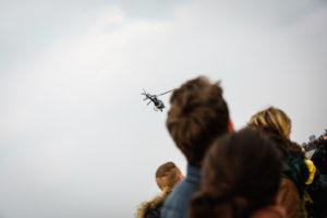 Abbiamo gli elicotteri sopra la testa, è questione di secondi.