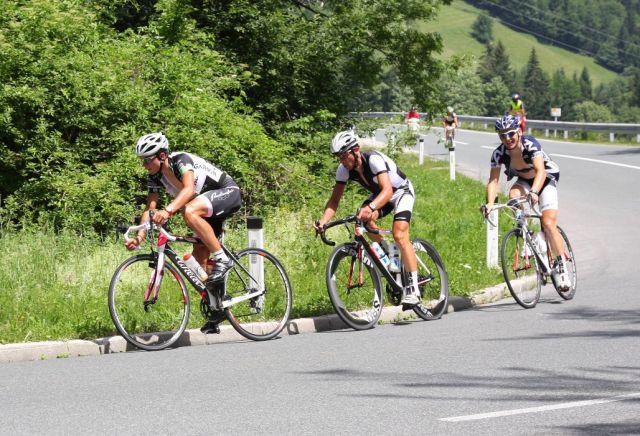 Primoz tira il terzetto di testa alla Maraton Alpe scott