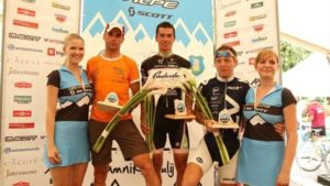 Primoz vince la Maraton Alpen tour